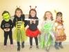 Frankenstein, Maya, Coccinelle, Fée Clochette et Pocahontas